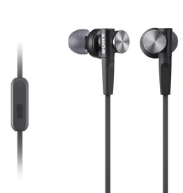 Sony Sony | In-ear Extra Bass Earbud Headphones (Black) | MDR-XB50AP/B