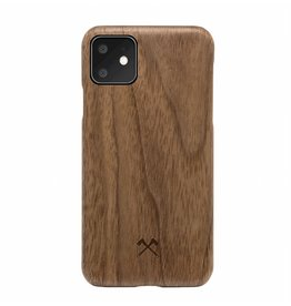 Woodcessories Woodcessories | Wood Slim Case for iPhone 11 - Walnut/Aramid Fibres | WOOD-ECO311