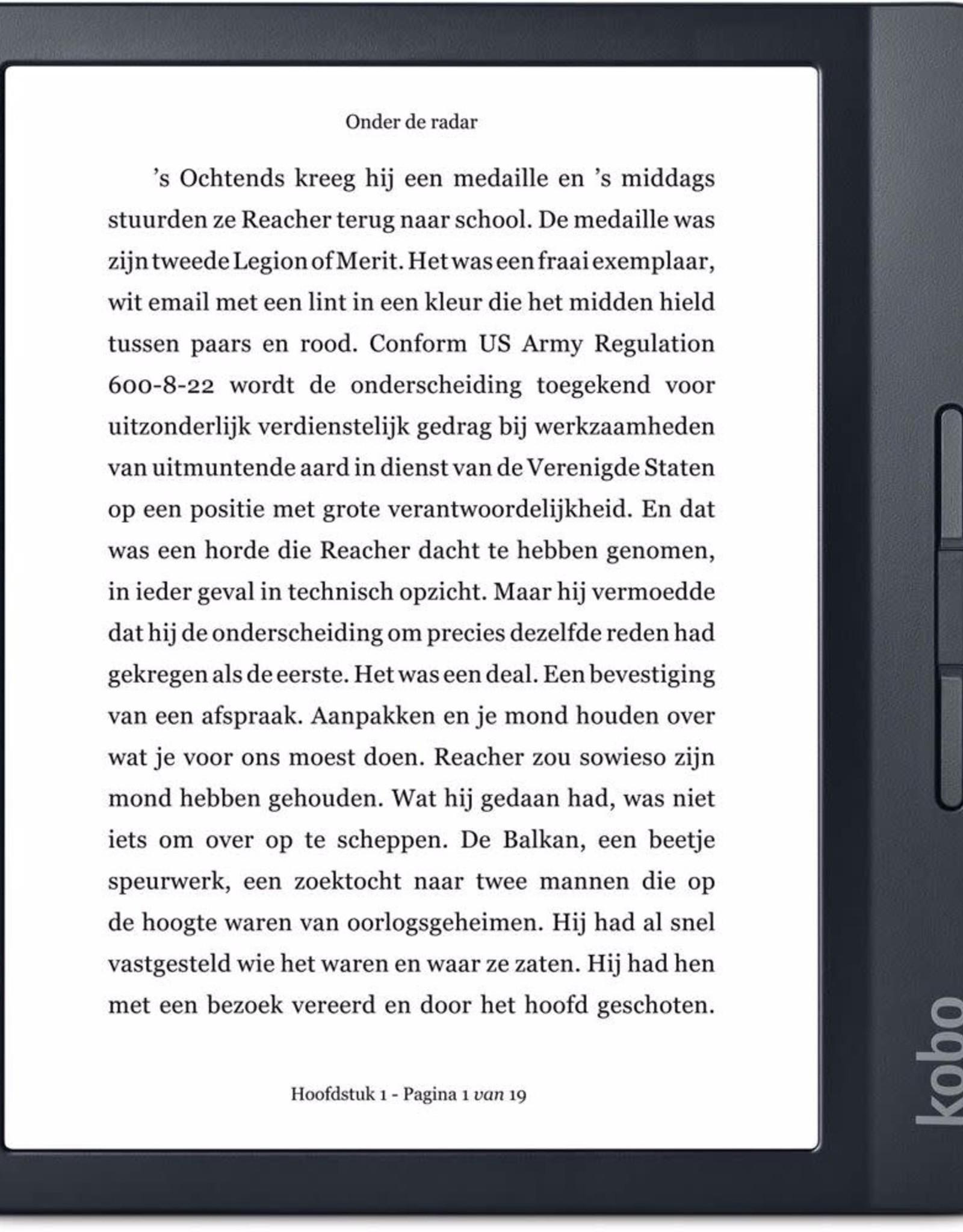 "Kobo Kobo Libra H2O 7"" Digital eReader with Touchscreen Black N873-KU-BK-K-EP"