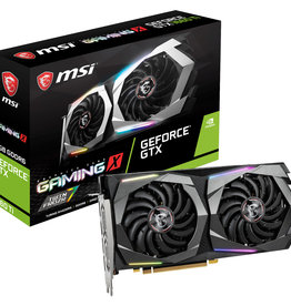 MSI VCX G1660TGX6 GeForce GTX 1660 Ti GAMING X 6G 6GB DPx3 HDMI GAMING FAN G1660TGX6