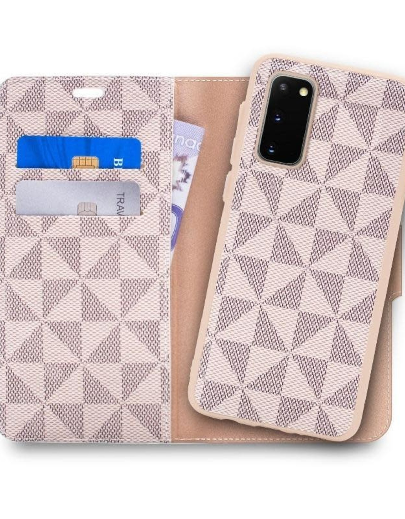 Caseco Caseco | Park Ave Magnetic Wallet Folio Case Samsung Galaxy S20 - Gold