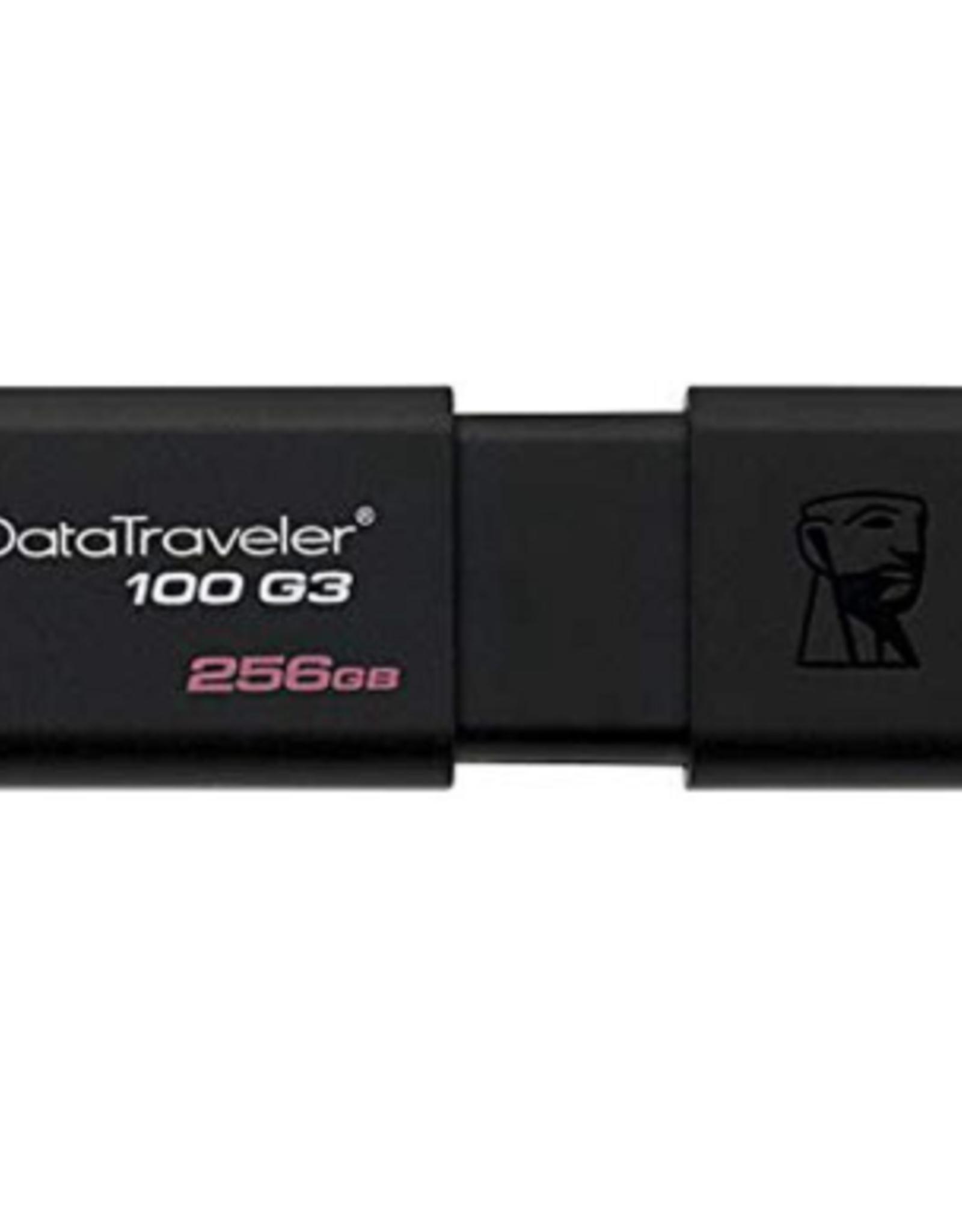Kingston Kingston | 256GB USB 3.0 DataTraveler 100 G3 (130MB/s read) DT100G3/256GBCR