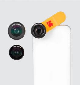 Kodak Kodak Smartphone 2-in-1 Lens Set- Black