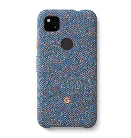 Google Google | Pixel 4a OEM Blue Confetti Fabric Case | 15-07148