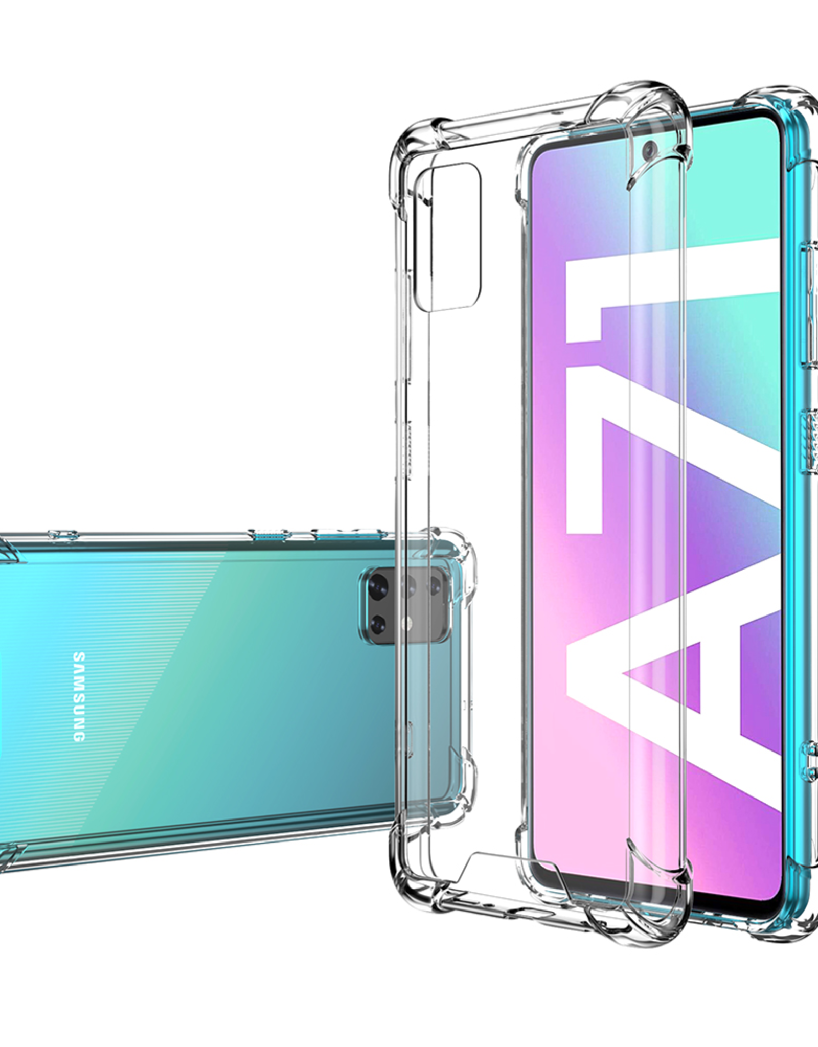 Blu Element Blu Element | Dropzone Galaxy A71 Clear 120-2870