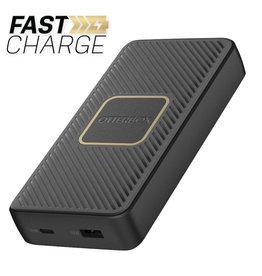 Otterbox Otterbox | Fast Charge Qi Wireless PD Power Bank 15000 mAh (A&C 18W + 10W) Black 109-1483