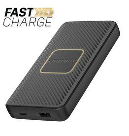 Otterbox Otterbox | Fast Charge Qi Wireless PD Power Bank 10000 mAh (A&C 18W + 10W) Black 109-1480