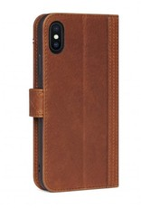 /// Decoded | iPhone X/Xs Leather Wallet Case Cinnamon Brown | DC-D7IPOXWC5CBN