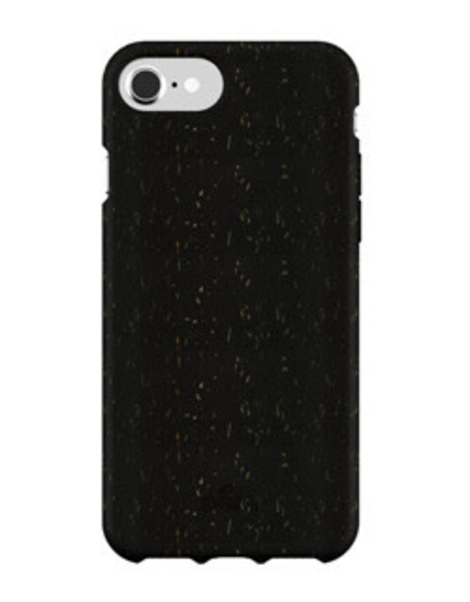 Pela Pela | iPhone SE (2020)/8/7/6S/6 Black Slim Compostable Eco-Friendly Protective | 15-07414