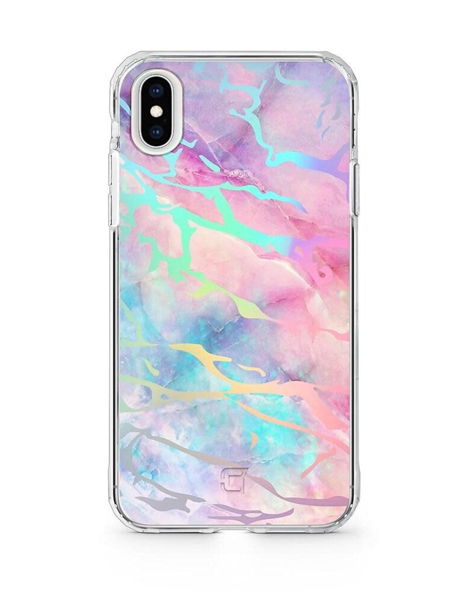 Caseco Caseco   Holographic Fremont Marble Tough Case - iPhone SE (2020)/8/7/6S/6 Unicorn C2608-55