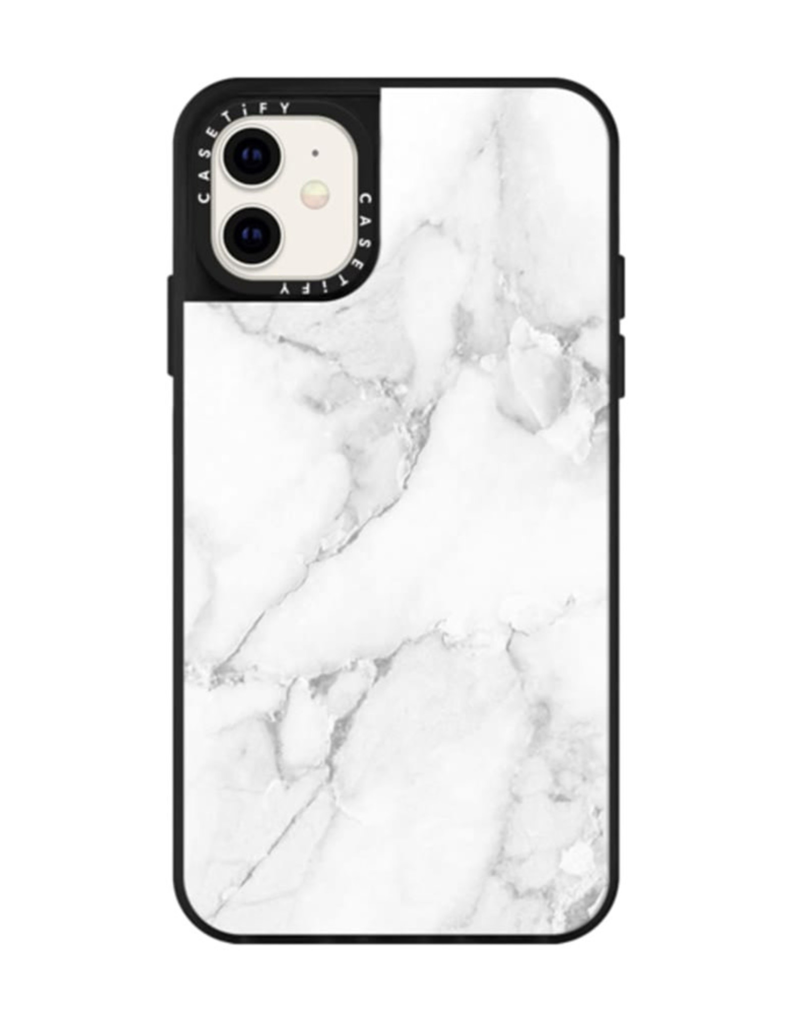 Casetify Casetify  | Impact Case White Marble for iPhone 11 120-2976