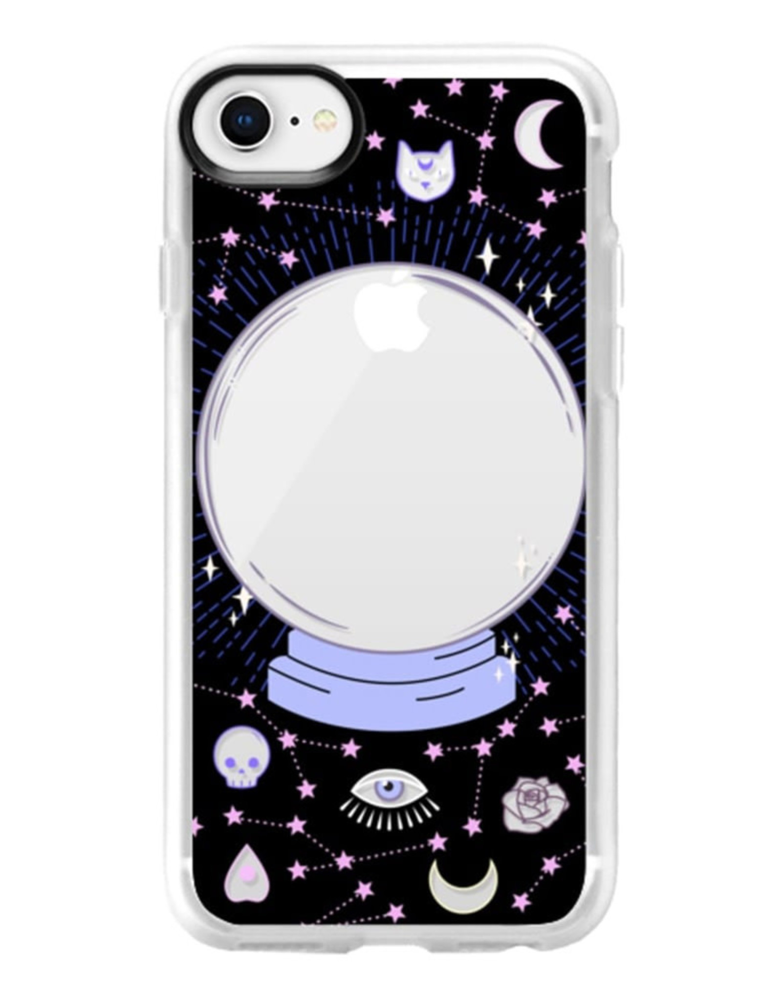 Casetify Casetify  | Grip Case Crystal Ball on Black Background for iPhone SE 2020/8/7/6S/6 120-3551