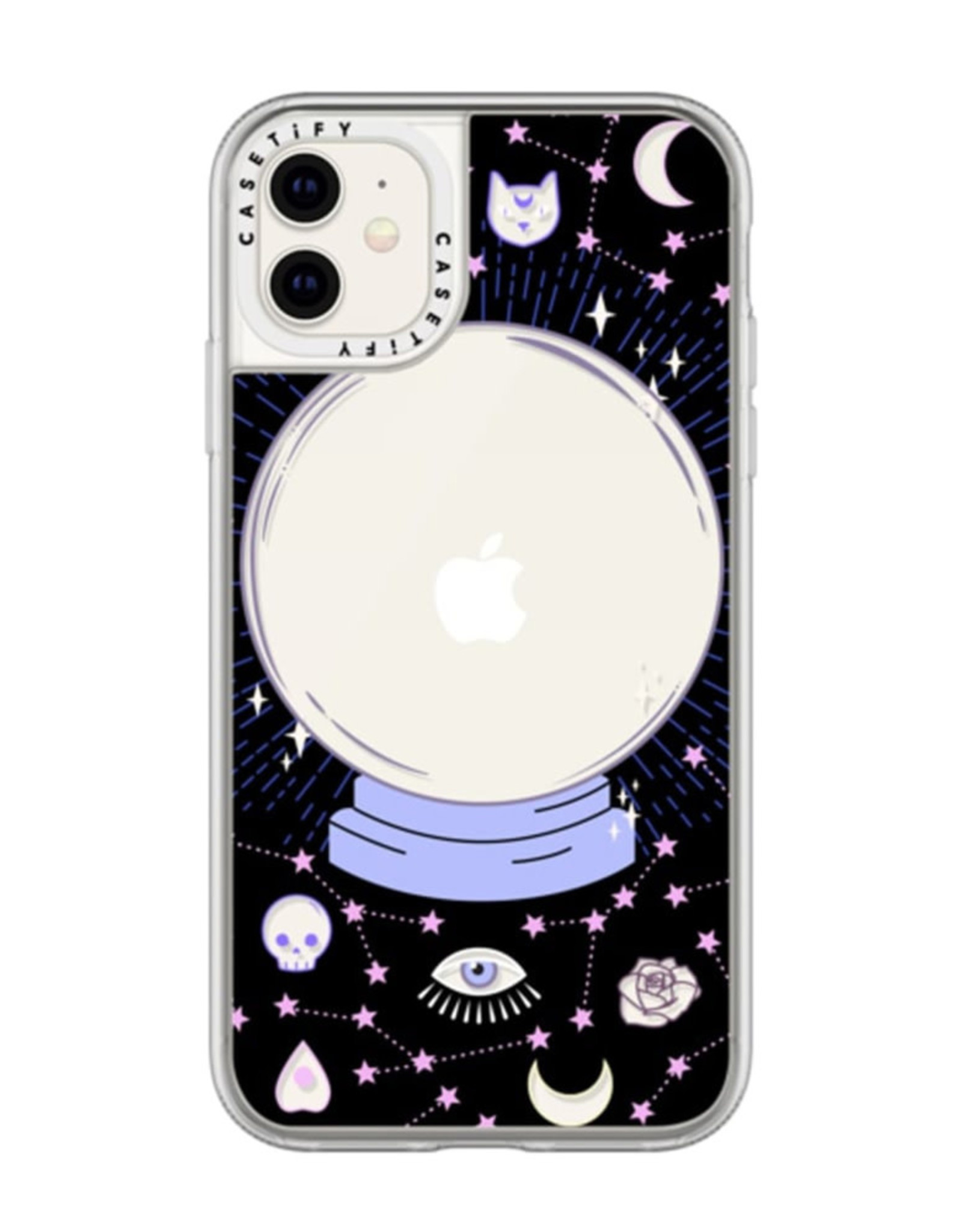 Casetify Casetify  | Grip Case Crystal Ball on Black Background for iPhone 11 120-3552