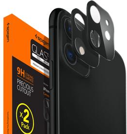 Spigen Spigen Full Cover Camera Lens Protector for IP 11/XR - Black SGPAGL00506