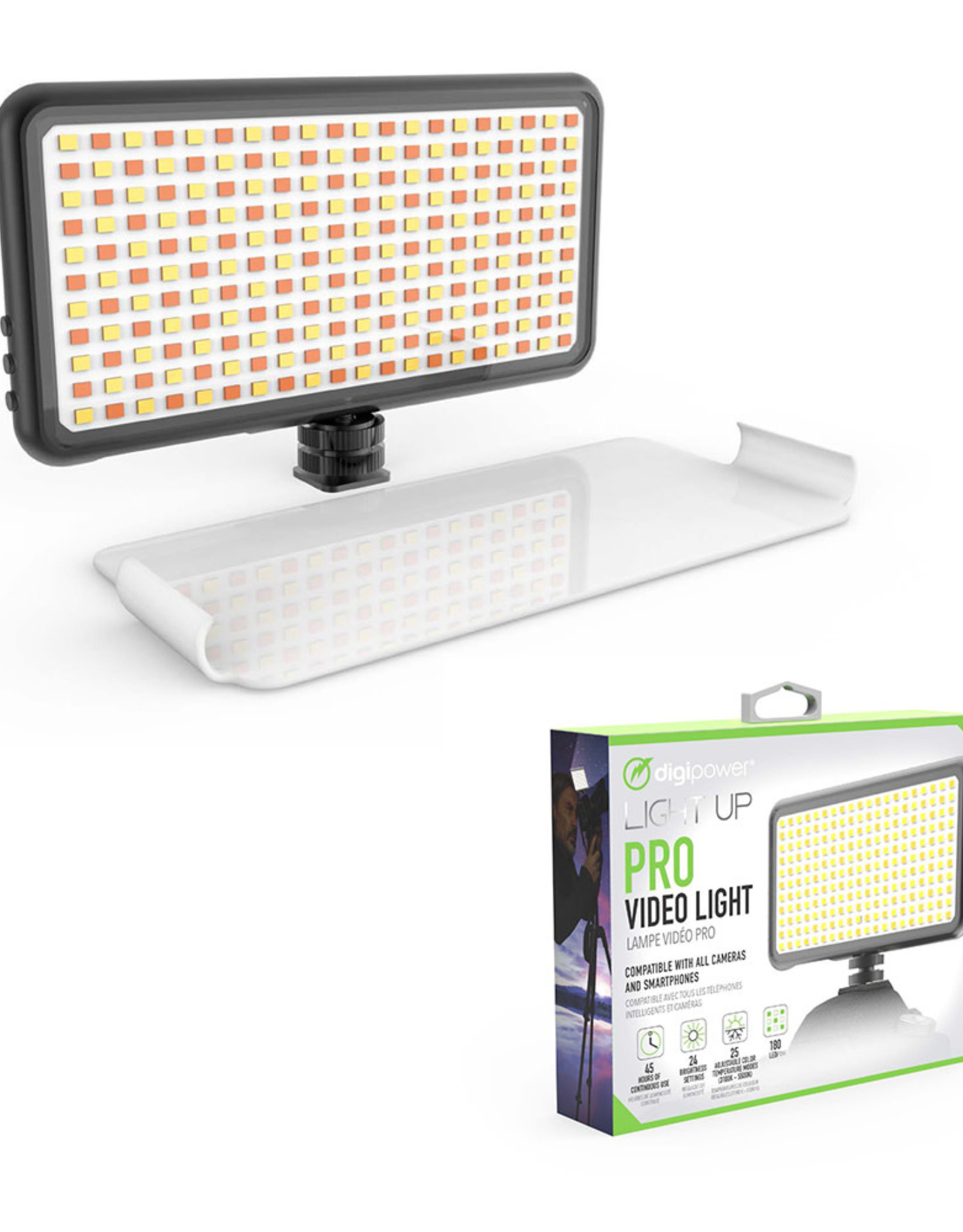 Digipower | Vlogging LED Video Light Professional | DP-VL180