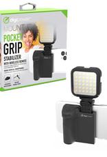 Digipower   Vlogging Tripod Pocket Grip W/Wireless Remote   TP-RGH10