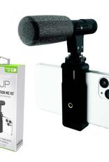 Digipower   Vlogging Shotgun Mic Kit Universal Mount/Windscreen   DP-M25
