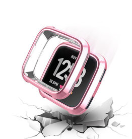 StrapsCo | TPU PROTECTIVE GUARD FOR FITBIT VERSA Pink | FB.PC9.13