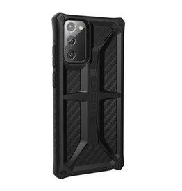UAG UAG |  Samsung Galaxy Note 20 Black (Carbon Fiber) Monarch Series Case | 15-07446
