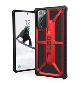 UAG UAG |  Samsung Galaxy Note 20 Red/Black (Crimson) Monarch Series Case | 15-07447