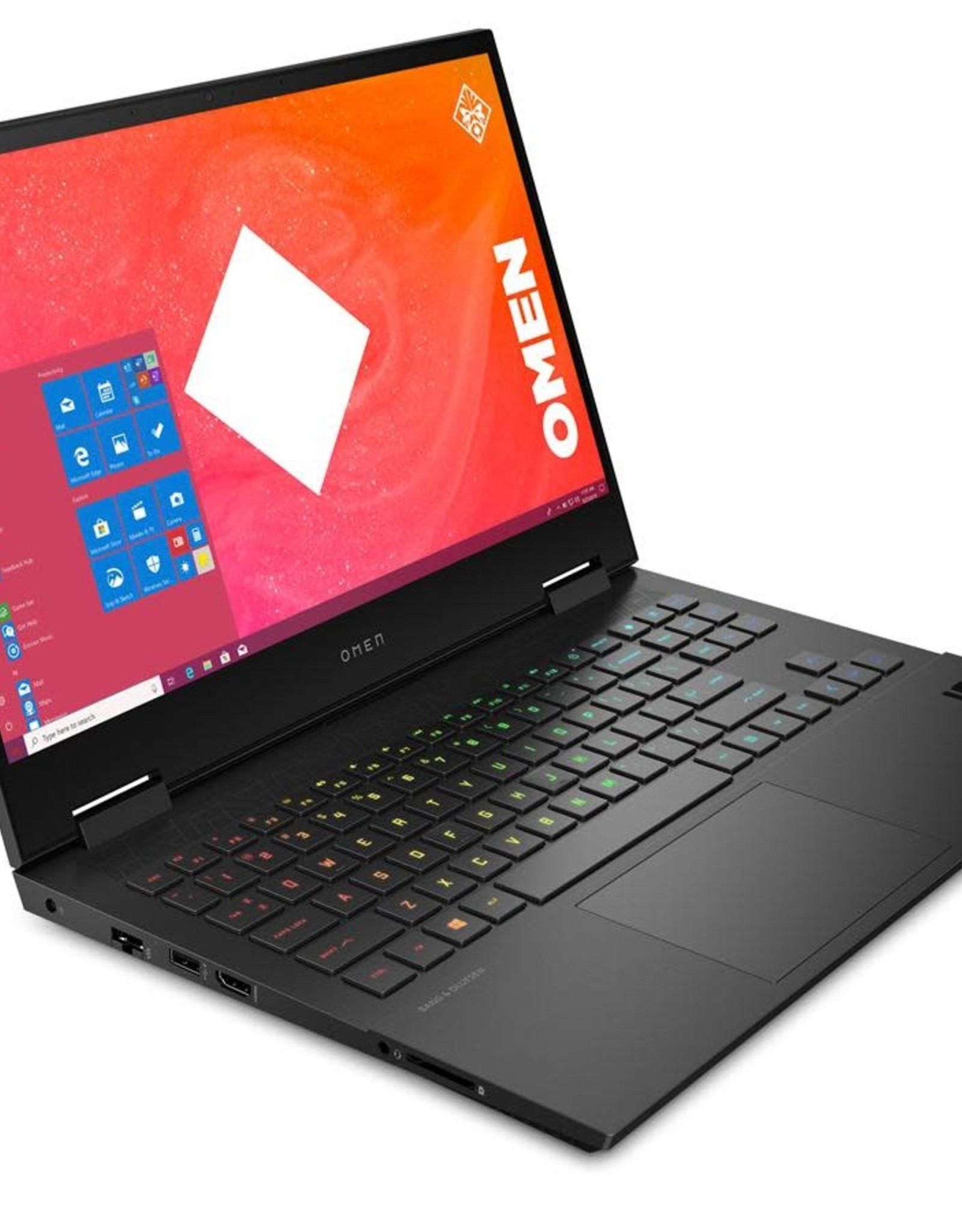 "HP HP | OMEN 15.6"" Gaming Laptop - Black Intel i7-10750H 512GB M.2 SSD 16GB GeForce RTX 2060 | 15-ek0008ca"