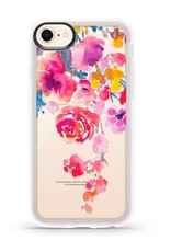 Casetify /// Casetify | iPhone 8/7/6/6s Grip Case Pink Confetti Watercolor | 120-0599