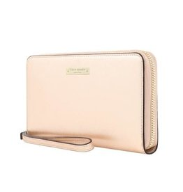 /// Kate Spade New York | Zip Wristlet Universal Saffiano Rose Gold | KSIPH-018-SRG