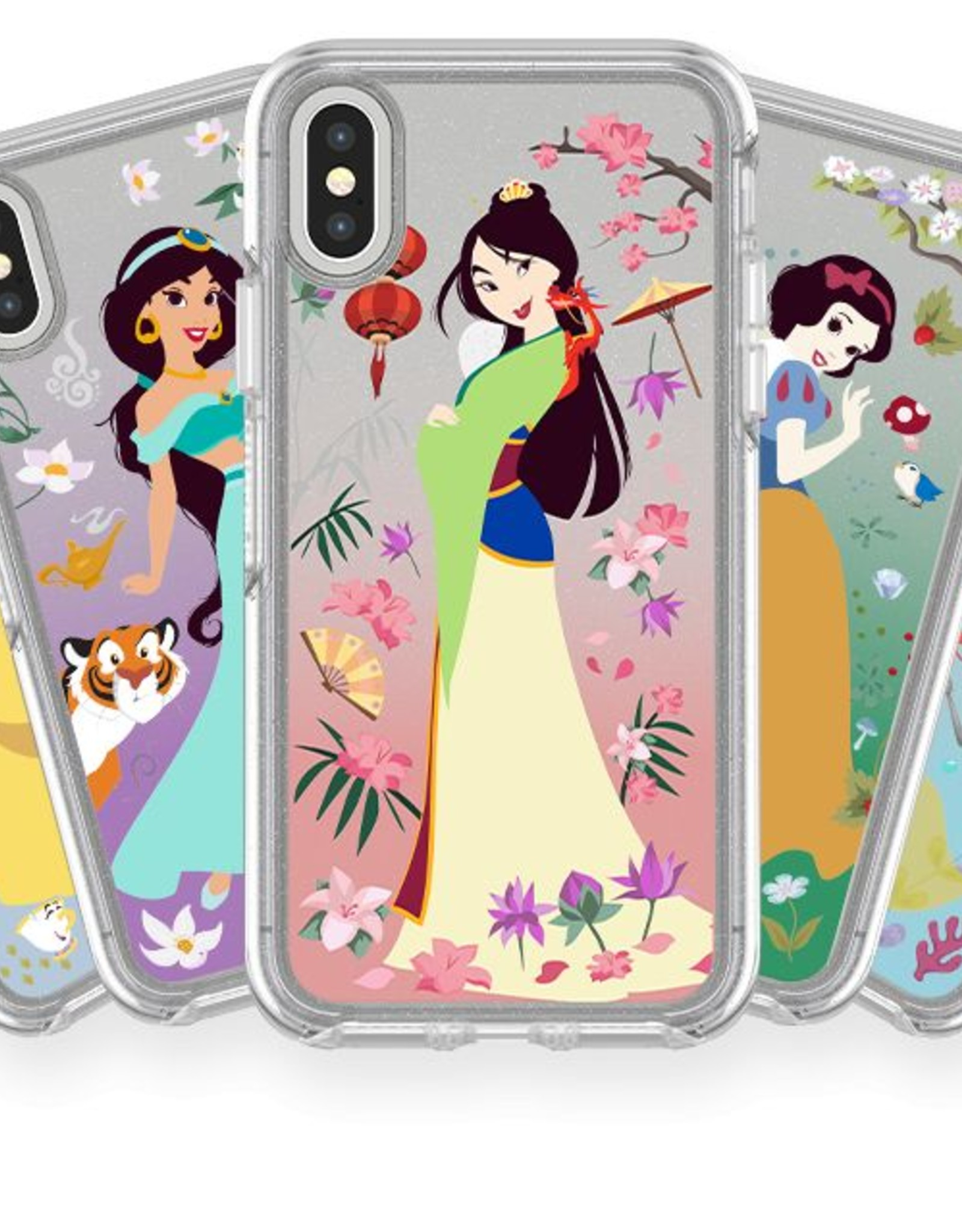 Otterbox OtterBox | iPhone X/Xs Oasis of Independence (Jasmine) Symmetry Disney Series Case | 15-03172
