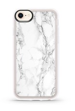 Casetify /// Casetify | iPhone 8/7/6/6s Grip Case White Marble | 120-0593