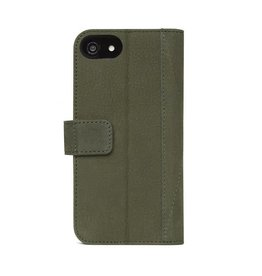 Decoded Decoded | iPhone 8/7/6/6s 2-in-1 Leather Wallet Olive Green | DC-D7IPO8WC4ON