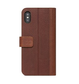 Decoded Decoded | iPhone X/Xs 2-in-1 Leather Wallet - Cinnamon Brown | DC-D8IPOXWC7CBN
