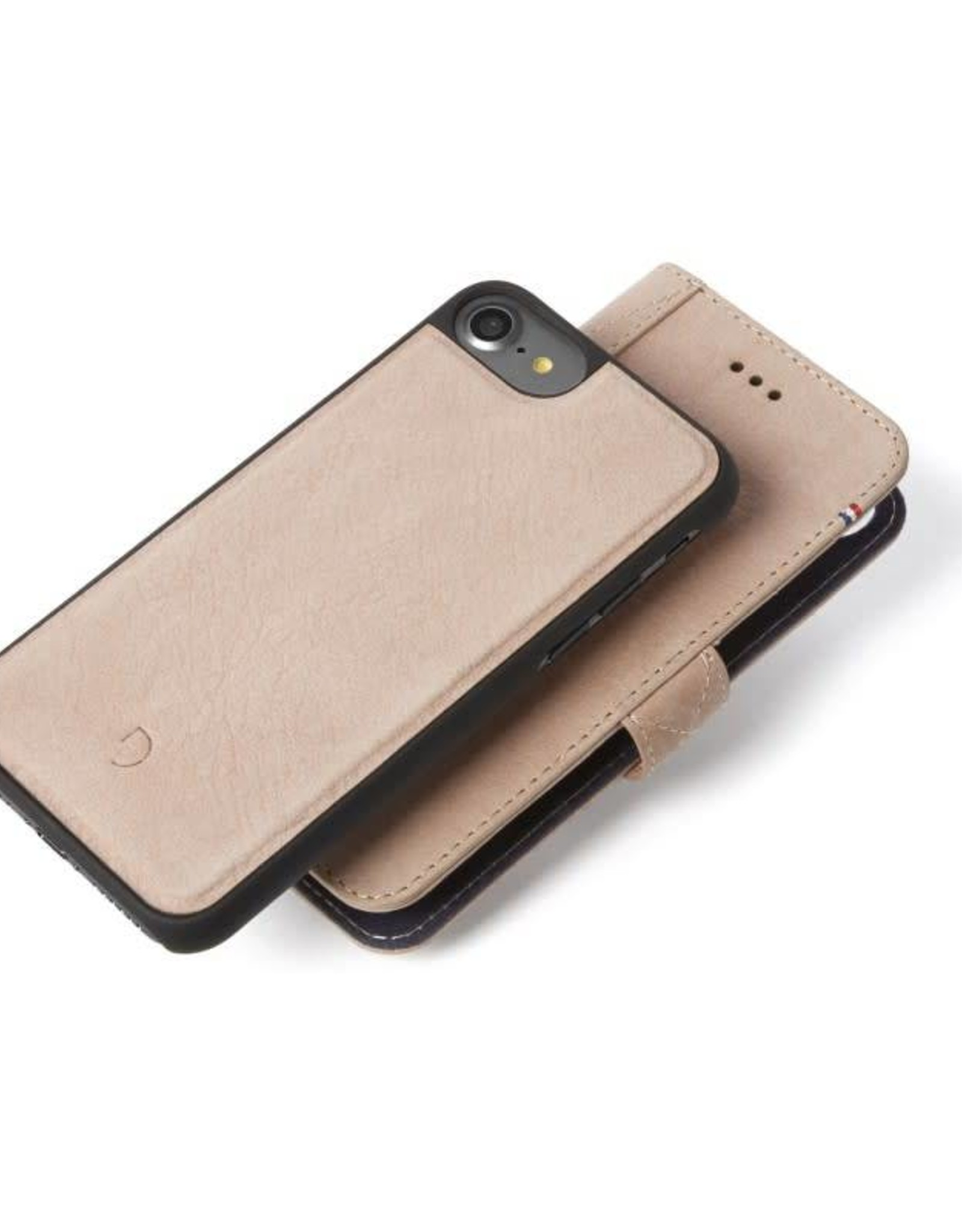 Decoded | iPhone 8/7/6/6s 2-in-1 Leather Wallet Rose | DC-D6IPO7WC4RE