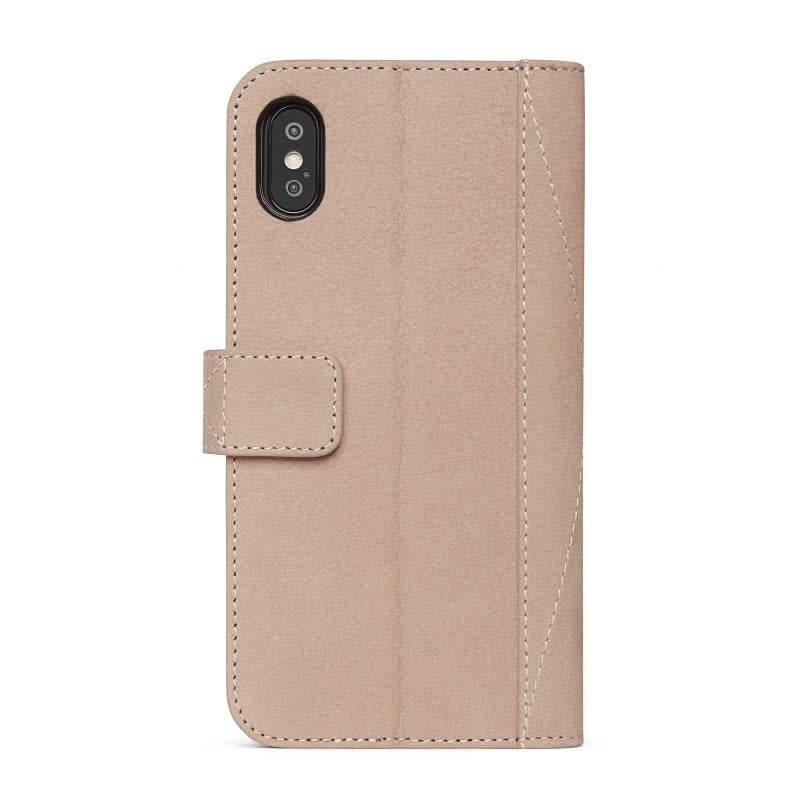 Decoded Decoded | iPhone X/Xs 2-in-1 Leather Wallet Natural | DC-D7IPOXWC5NL