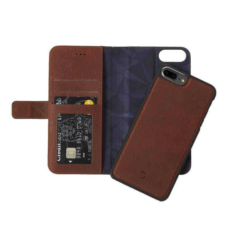 Decoded Decoded | iPhone 8/7/6/6s+ 2-in-1 Leather Wallet - Cinnamon Brown | DC-D6IPO7PLWC4CBN