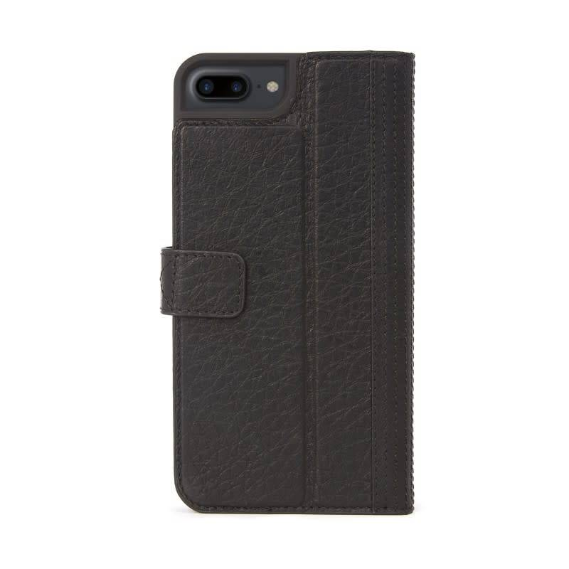 Decoded Decoded | iPhone 8/7/6/6s+ Leather Wallet Case Black No Magnet | DC-DA6IPO7PLCW3BK