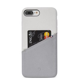 Decoded Decoded   iPhone 8/7/6/6s+ Leather Snap White/Gray   DC-DA6IPO7PLSO1WEGY