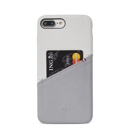 Decoded Decoded | iPhone 8/7/6/6s+ Leather Snap White/Gray | DC-DA6IPO7PLSO1WEGY