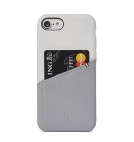 Decoded Decoded   iPhone 8/7/6/6s Leather Snap White/Gray   DC-DA6IPO7SO1WEGY