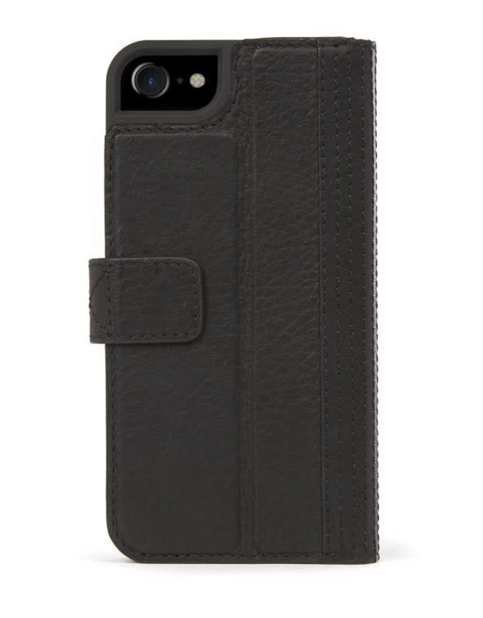 Decoded Leather Wallet Case for iPhone 8/7/6s/6 - Black No Magnet DC-DA6IPO7CW3BK