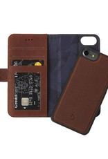 Decoded | iPhone 8/7/6/6s 2-in-1 Leather Wallet Brown | DC-D6IPO7WC4CBN