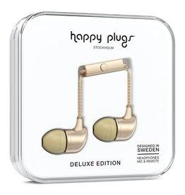 Happy Plugs Happy Plugs | In-Ear Matte Gold Deluxe Edition Headphones | 14796VRP