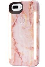 LuMee | IPhone 8/7/6s/6+ Duo Illuminating Case - Pink Quartz | LM-LD-IP8P-PQZ