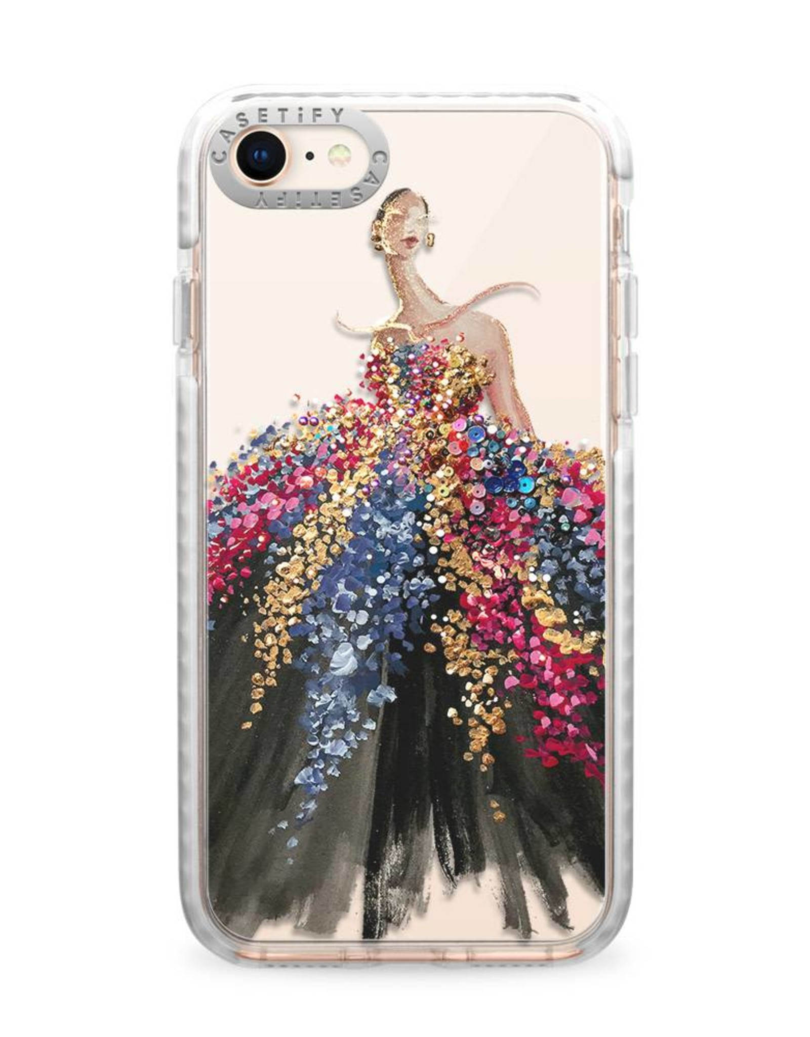 Casetify /// Casetify | iPhone 8/7/6/6s Impact Case Blooming Gown | 120-0916