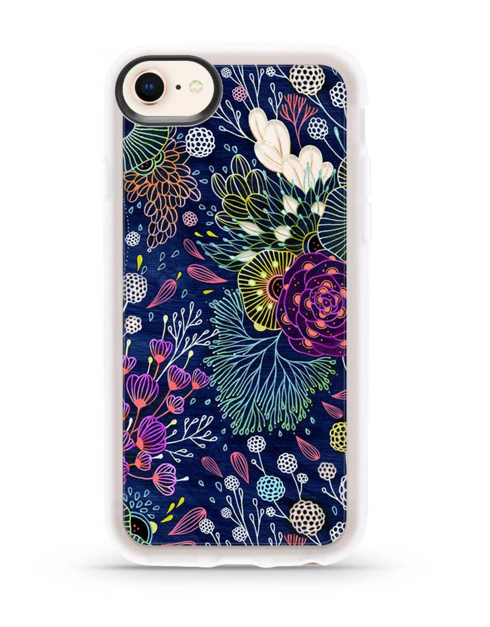 Casetify /// Casetify | iPhone 8/7/6/6s+ Grip Case Dark Floral | 120-0932