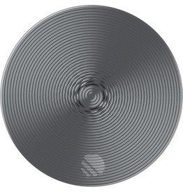 Popsockets Popsockets   Twist Silver Aluminum   115-1707