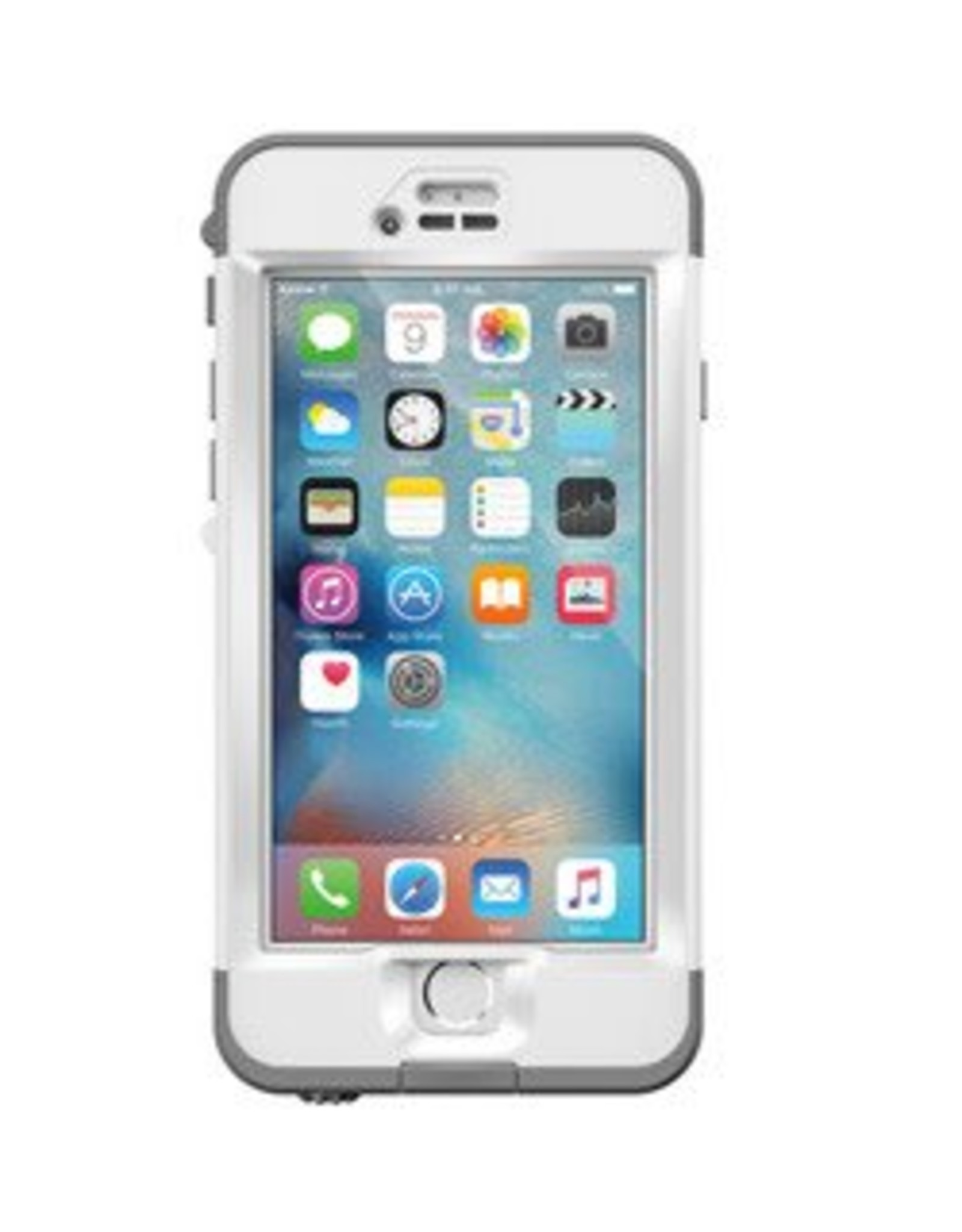 LifeProof /// LifeProof  | iPhone 6/6s+ White/Grey (Avalanche) Nuud case | 15-00249