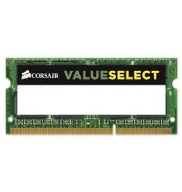 Corsair Corsair Valueselect 4GB DDR3 SoDIMM SDRAM Memory Module CMSO4GX3M1C1600C11