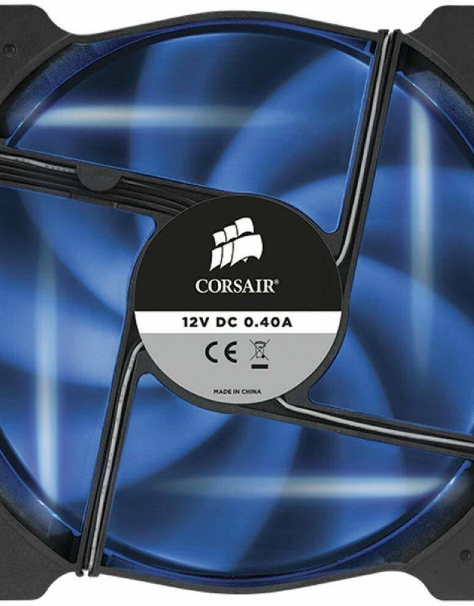 Corsair Corsair Air Series AF120 Blue LED Quiet Edition 120mm High Airflow Fan 5170611