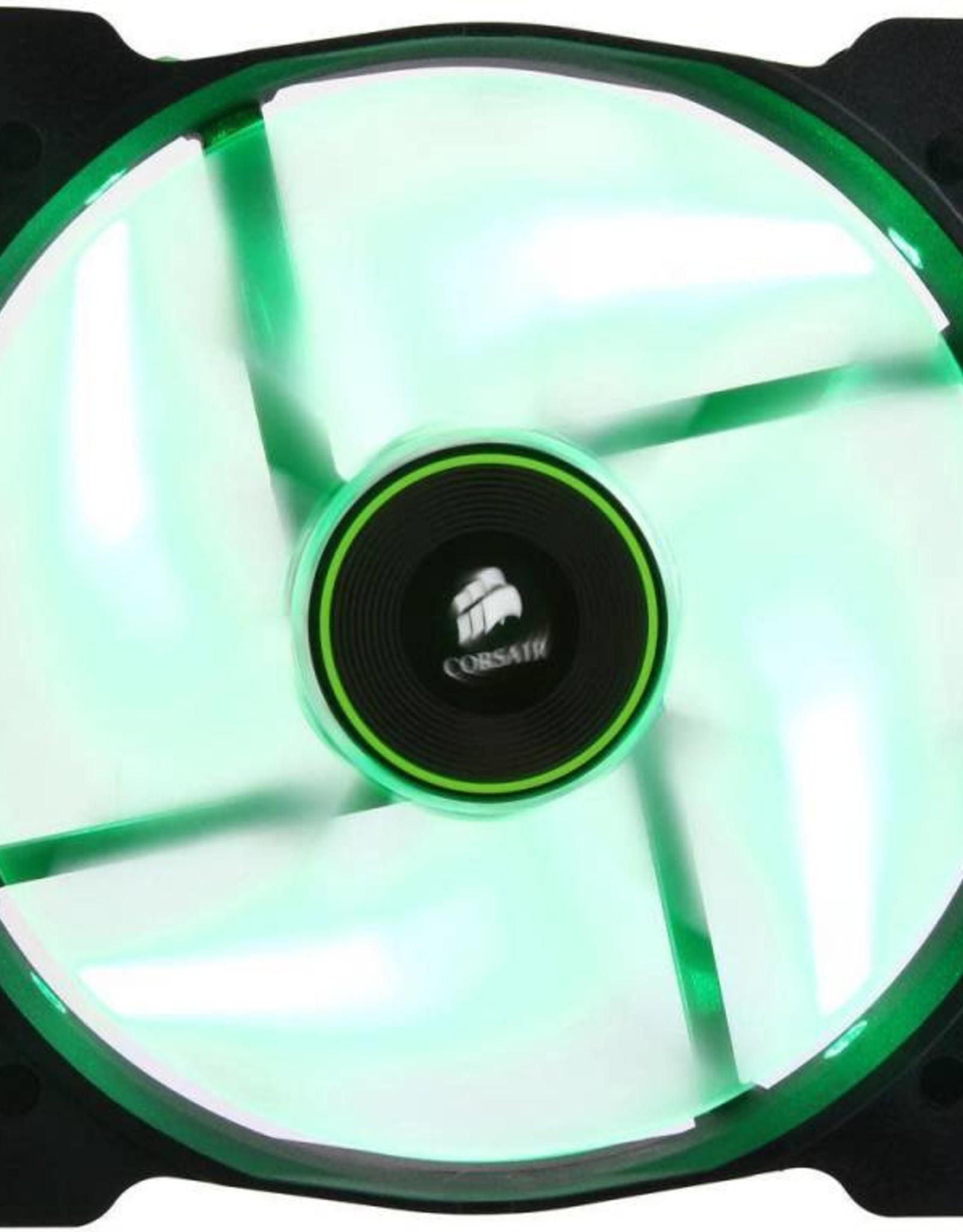 Corsair Corsair SP 140 LED Green Fan - CO-9050027-WW