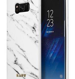 Laut LAUT | Samsung Galaxy S8 HUEX ELEMENTS Marble White | LAUT_S8_HXE_MW